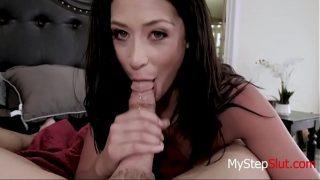 Teen Brunette Daughter Gets Some Cock- Avi Love