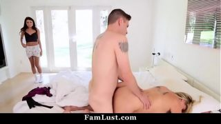 Threesome Sex With My Hot Stepmom on Mothers Day